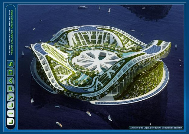 The Floating City of The Solution to Global Warming ?