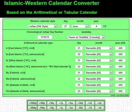 kalenderisalahir